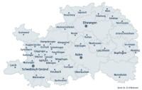 Ostalbkreis Karte.Ostalbkreis De Kreis Städte Und Gemeinden